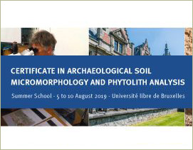 Archeological Summer school Bruxelles